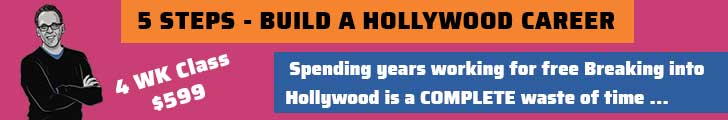 5 STEP WE USE TO BUILD A SUCCESSFUL HOLLYWOOD DREAM JOB